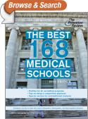 The Best 168 Medical Schools, 2013 Edition