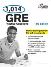 1,014 GRE Practice Questions, 3rd Edition Cover