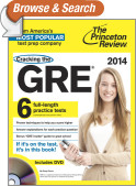 Cracking the GRE with 6 Practice Tests & DVD, 2014 Edition