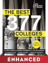 The Best 377 Colleges, 2013 Edition Cover