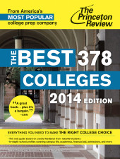 The Best 378 Colleges, 2014 Edition Cover