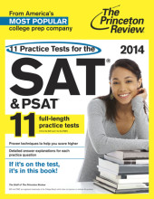 11 Practice Tests for the SAT and PSAT, 2014 Edition Cover