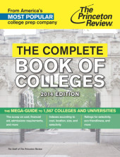 The Complete Book of Colleges, 2014 Edition Cover