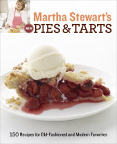 Martha Stewart's New Pies and Tarts Cover