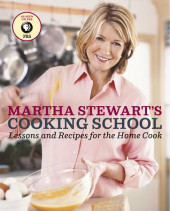 Martha Stewart's Cooking School Cover
