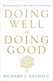 Doing Well and Doing Good Cover