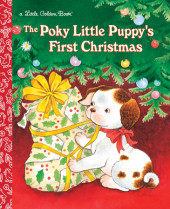 The Poky Little Puppy's First Christmas Cover