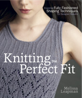 Knitting the Perfect Fit Cover