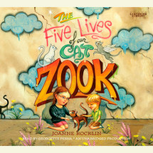 The Five Lives of Our Cat Zook Cover