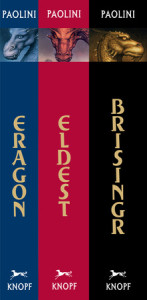 Inheritance Cycle Omnibus: Eragon, Eldest, and Brisingr Cover