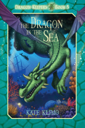 Dragon Keepers #5: The Dragon in the Sea Cover