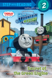 Secret of the Green Engine (Thomas & Friends) Cover