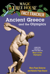 Magic Tree House Fact Tracker #10: Ancient Greece and the Olympics Cover