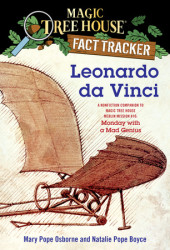 Magic Tree House Fact Tracker #19: Leonardo da Vinci Cover
