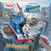 Risky Rails! (Thomas & Friends) Cover