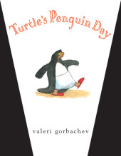 Turtle's Penguin Day Cover