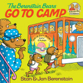 The Berenstain Bears Go to Camp Cover