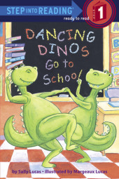 Dancing Dinos Go to School Cover
