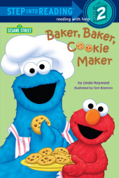 Baker, Baker, Cookie Maker (Sesame Street) Cover