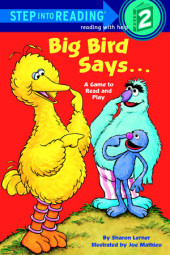 Big Bird Says... (Sesame Street) Cover