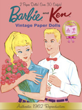 Barbie and Ken Vintage Paper Dolls (Barbie) Cover