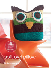 Soft Owl Pillow Cover
