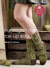 Norwegian Rose Socks Cover