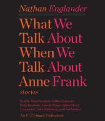 What We Talk About When We Talk About Anne Frank Cover