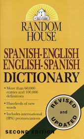 Random House Spanish-English English-Spanish Dictionary Cover