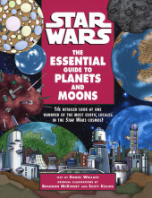The Essential Guide to Planets and Moons: Star Wars Cover