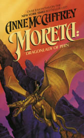Moreta: Dragonlady of Pern Cover