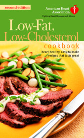 The American Heart Association Low-Fat, Low-Cholesterol Cookbook Cover