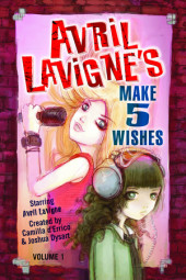 Avril Lavigne's Make 5 Wishes  Volume 1 Cover