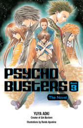 Psycho Busters: The Novel     Book Three Cover