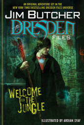 The Dresden Files: Welcome to the Jungle Cover