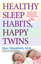 Healthy Sleep Habits, Happy Twins Cover