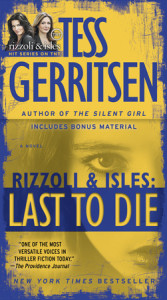 Last to Die: A Rizzoli & Isles Novel Cover