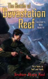 Helfort's War Book 3: The Battle of Devastation Reef Cover