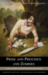 Pride and Prejudice and Zombies: The Graphic Novel Cover
