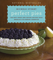 PERFECT PIES Giveaway and Recipe for Strawberry-Rhubarb Crumb Pie!