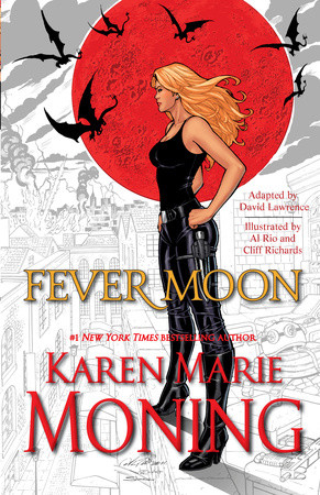 Preview some of the gorgeous art from Karen Marie Moning's FEVER MOON!