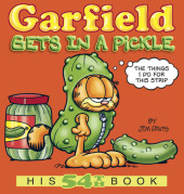 Garfield Gets in a Pickle: His 54th Book Cover
