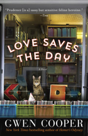 Enter to win a copy of LOVE SAVES THE DAY by Gwen Cooper!