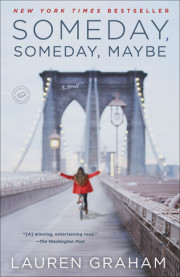 Lauren Graham's debut novel, Someday, Someday, Maybe!