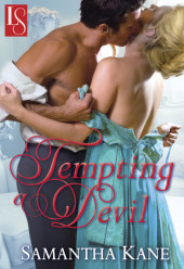 Book Review: Farrah Loves TEMPTING A DEVIL by Samantha Kane!  Stop by & see why