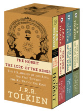 J.R.R. Tolkien 4-Book Boxed Set: The Hobbit and The Lord of the Rings (Movie Tie-in) Cover