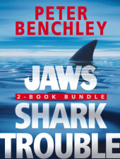 Jaws 2-Book Bundle: Jaws and Shark Trouble Cover
