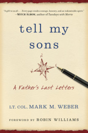Watch the touching book trailer for TELL MY SONS!