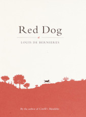 Red Dog Cover