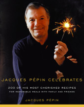 Jacques Pepin Celebrates Cover